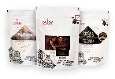 dabov specialty coffee black collection - специално кафе дъбов
