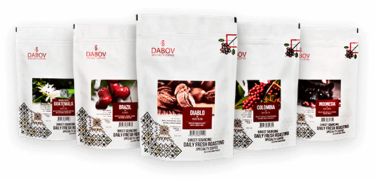 dabov specialty coffee brown collection - специално кафе дъбов