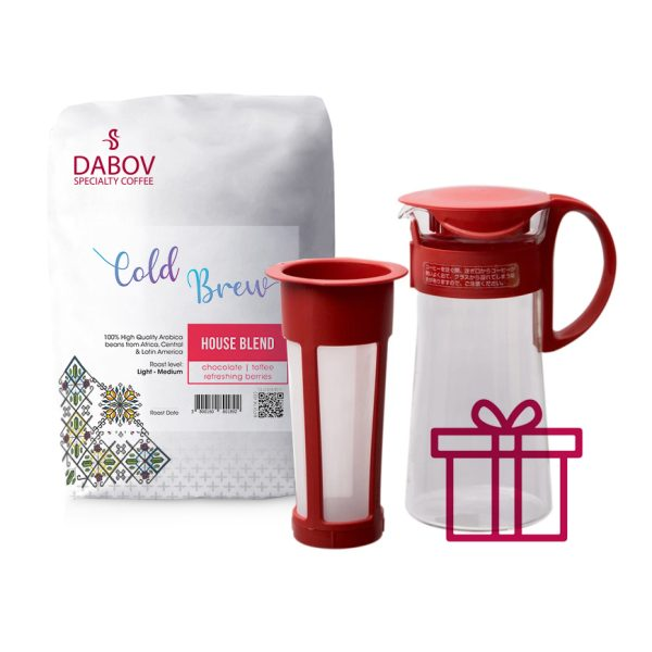 DABOV-SPECIALTY-COFFEE-COLD-BREW-1-KG-HARIO-RED-GIFT